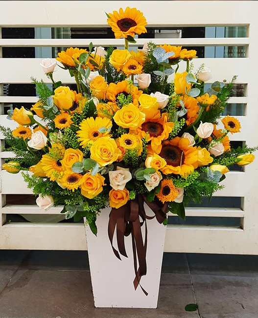 Shop hoa tươi Long Hồ, dịch vụ điện hoa Vĩnh Long, shop hoa tươi.